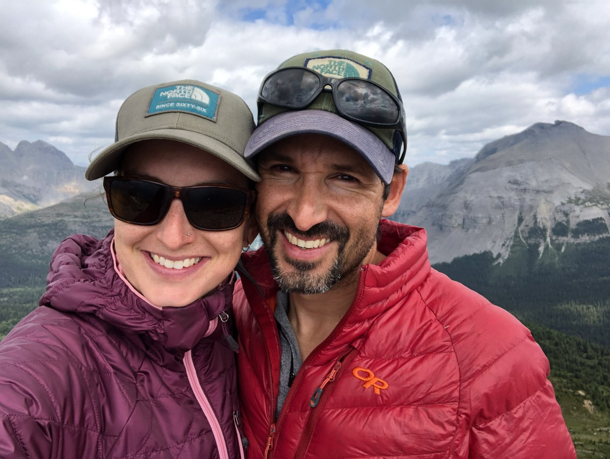 Meghan Ward + Paul Zizka hosts of conference + chill round 2 outdoor adventure edition