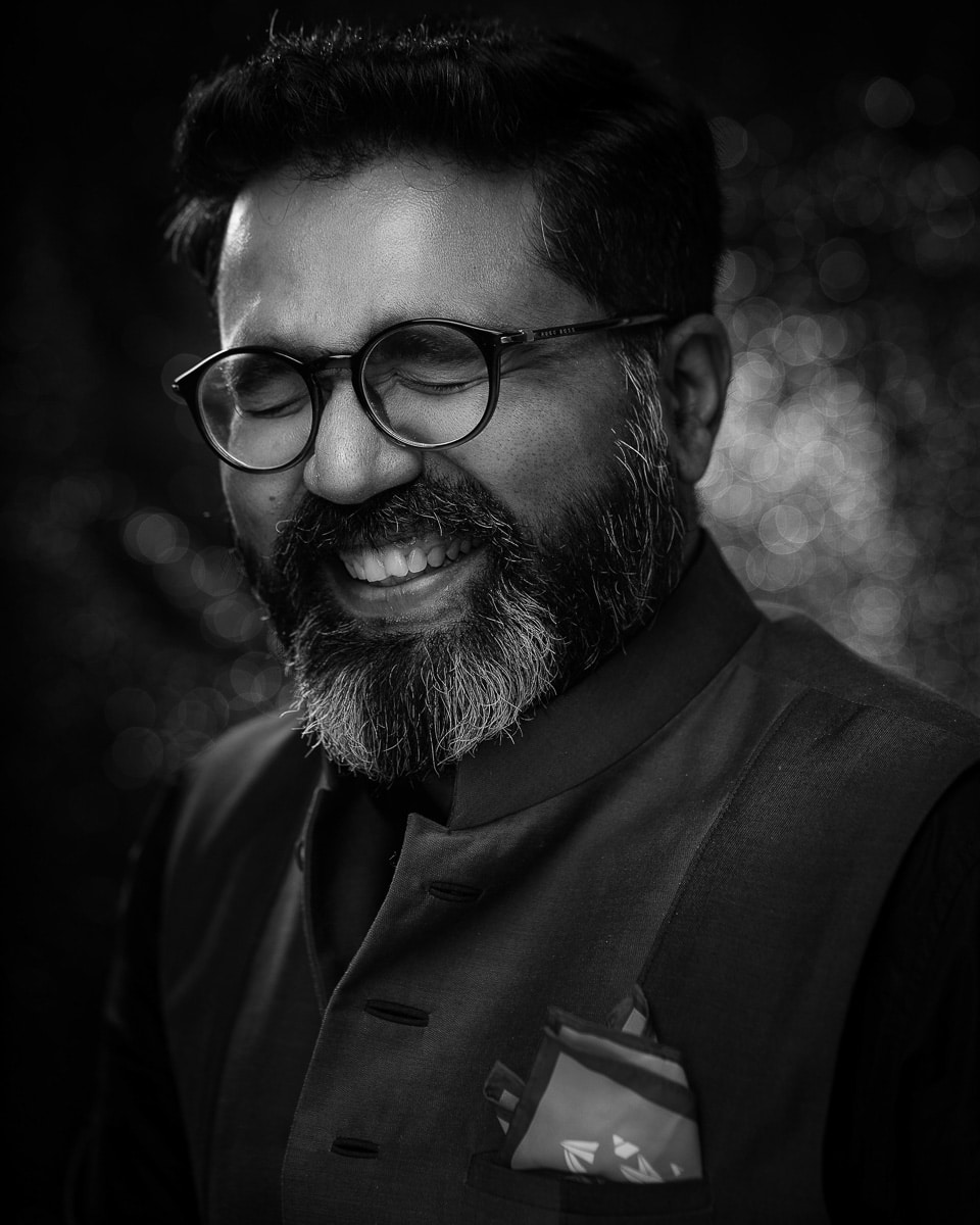 Joseph Radhik is a wedding photographer from India and speaker at Conference + Chill 2020 Wedding Edition