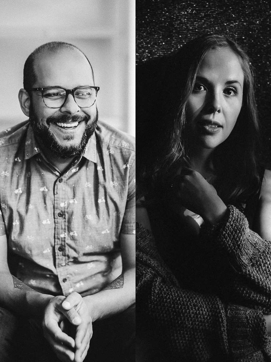 Joao Guedes and Tiara brouse are boudoir photographers who presented at Conference + Chill 2020